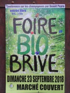 Stand à la FOIRE BIO Pays de BRIVE @ Marché couvert, Place de la Guierle