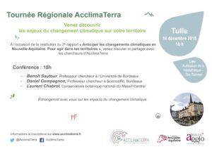 AcclimaTerra: conférence débat @ Tulle médiathèque Rhomer