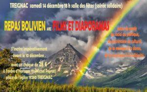 """Soirée bolivienne : """"Du social au politique, du patrimoine au culturel, de la musique à la danse, de la conscience à la solidarité."""" @ salle des fètes de Treignac"""
