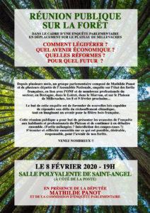 La Forêt: réunion publique @ salle polyvalente de Saint-Angel (à côté de la poste)