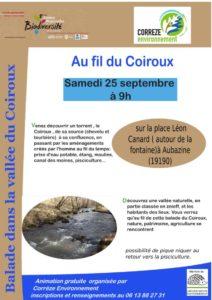 Au fil du Coiroux @ place Léon Canard à Aubazine